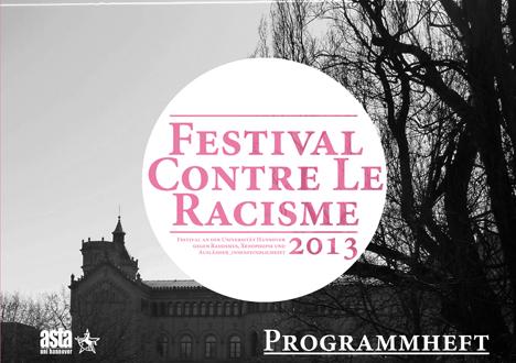 festival contre le racisme 2013 Programmheft